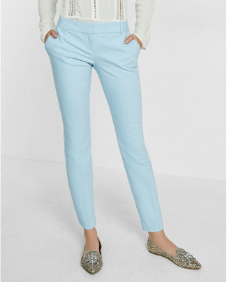 Express Low Rise New Waistband Columnist Ankle Pant $79.90 thestylecure.com