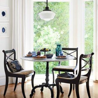 Williams-Sonoma La Coupole Round Iron Bistro Table