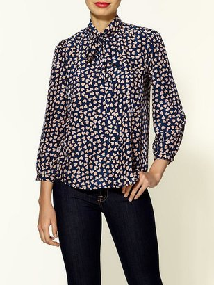 Red Carter Ark & Co. Heart On Your Sleeve Blouse