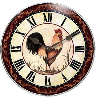 Infinity Instruments Clock, The Chanticleer