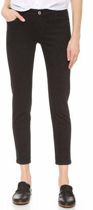 A.P.C. Jean Etroit Court Ankle Skinny Jeans $210 thestylecure.com