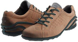 Ecco Lane Tie (Earth Brown Nubuck) - Footwear