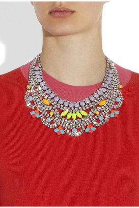 Tom Binns Soft Power glow-in-the-dark Swarovski crystal necklace