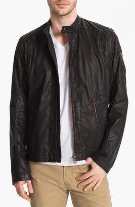 HUGO BOSS Orange 'Odelta' Coated Cotton Jacket
