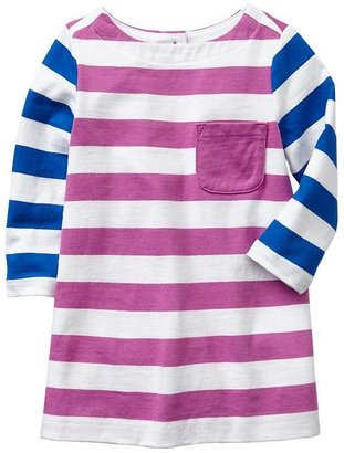 Gap Colorblock stripe dress
