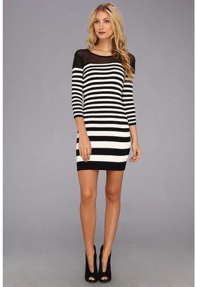 Gabriella Rocha Jemmah Dress (Black/White) - Apparel