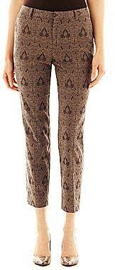 JCPenney Worthington® Jacquard Ankle Pants