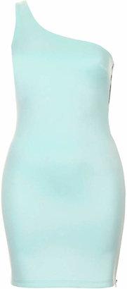 Topshop One shoulder mini dress