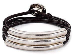 Uno de 50 Not to Be Wrap Bracelet
