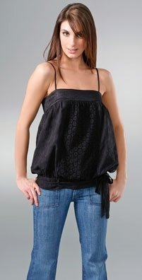 Development Eyelet Panel Camisole