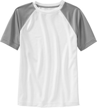 Old Navy Boys Raglan Sports Graphic Tees