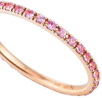 Majolie Collections Pink Pave Sapphire Ring