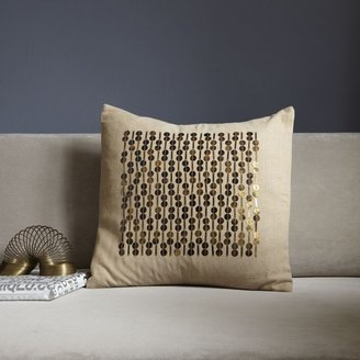 west elm Framed Sequins Pillow Cover