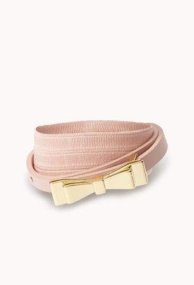 Forever 21 Fancy Bow Belt
