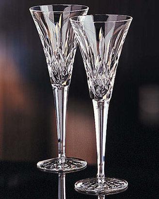 Salzburg Creations Waterford Crystal Lismore Crystal Toasting Flutes