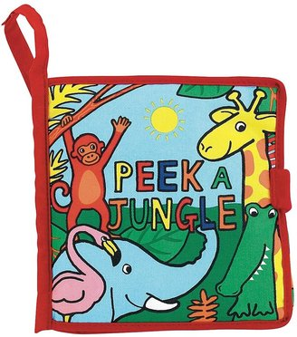 Jellycat Peek a Jungle Book (Cloth Book)