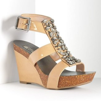 Vera Wang Simply vera platform wedge sandals - women