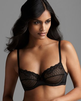 Blush Lingerie Demi Bra - Allure Noire Unlined