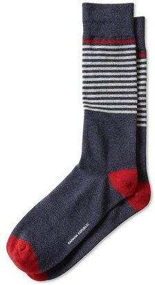 Banana Republic Placed Stripe Sock