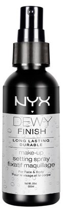 NYX 'Dewy Finish' Makeup Setting Spray