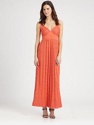 M Missoni Wave Maxi Dress