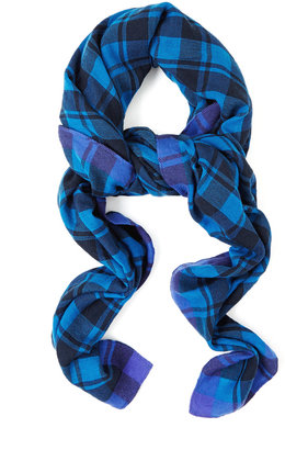 Marc by Marc Jacobs Scarlette Check Wool Scarf