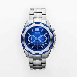 Brady Relic stainless steel chronograph watch - zr66063 - men