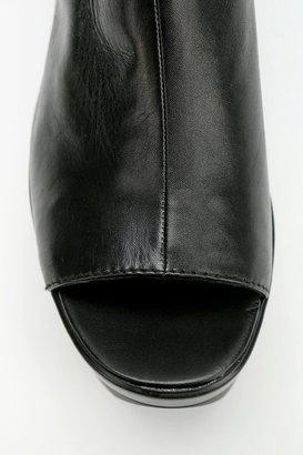 Vagabond Lindi Peep-Toe Platform Ankle Boot