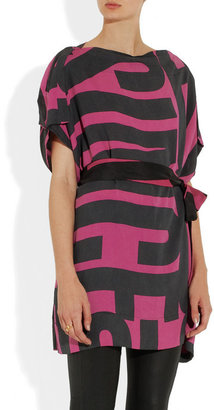 Vivienne Westwood Square Mile washed-jersey tunic