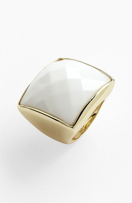 Ariella Collection Square Crystal Ring