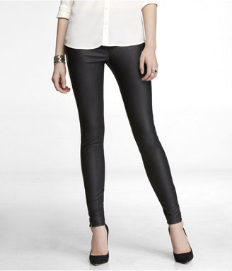 Express (Minus The) Leather Ankle Zip Legging