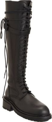 Ann Demeulemeester Lace-Up Knee Boot