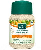 Kneipp Pure Harmony Mineral Bath Salt Orange and Linden Blossom 17.6oz