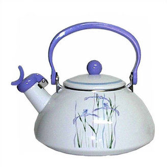 Corelle Impressions Shadow Iris 2.5-qt. Whistling Tea Kettle