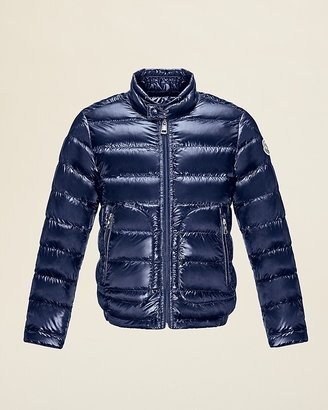 Moncler Boys' Acorus Long Season Down Puffer Jacket - Sizes 12-14