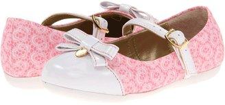 Pampili Bailarina 188132 (Toddler/Little Kid) (Bubble Gum/White) - Footwear