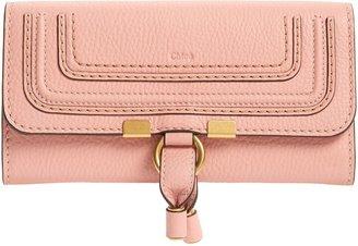 Chloé Marcie Leather Flap Wallet