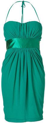 Blumarine Emerald Strapless Dress