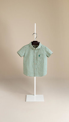 Burberry Textured Gingham Shirt