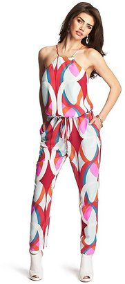 GUESS by Marciano Bellini Silk Jumpsuit