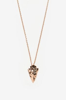 Pamela Love Mini Arrowhead Pendant