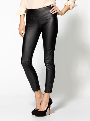 Blank Vegan Leather Pant
