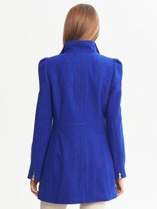 Banana Republic Cobalt Wool Coat