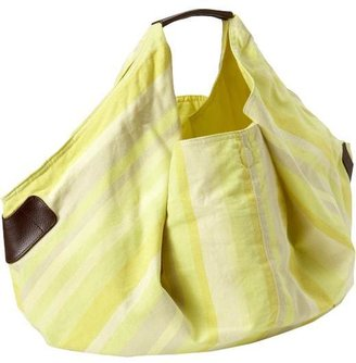 Old Navy Women's Faux-Leather Trimmed Crescent Totes