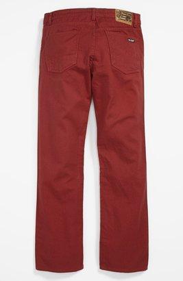 Volcom 'Vorta' Twill Pants (Big Boys)