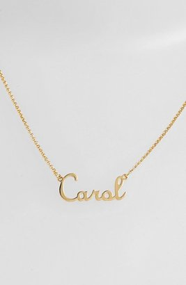 Women's Argento Vivo Personalized Script Name With Cross Necklace (Nordstrom Online Exclusive) $128 thestylecure.com