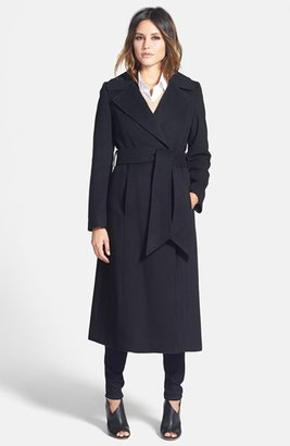 Women's George Simonton 'Hollywood' Long Wrap Coat $595 thestylecure.com