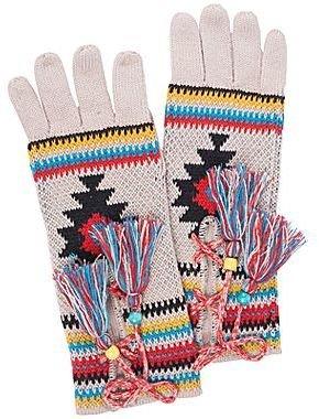 Muk Luks Lace-Up Gloves