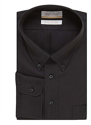 Roundtree & Yorke Gold Label Big & Tall Non-Iron Solid Regular Full-Fit But