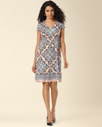Soma Intimates Shirred Shoulder Dress